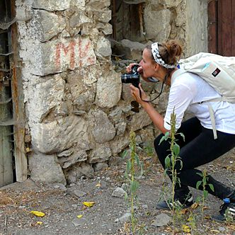 Tekstschrijfster Kim Nelissen in Turkije